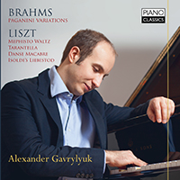 Brahms:Paganini Variations/Liszt: Various piano works